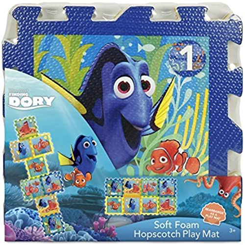 el precio más bajo Disney Finding Finding Finding Dory Foam Hopscotch Mat (8 Piece) by Disney  diseño único