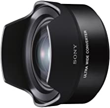 Sony VCLECU2 12-16 MM,f/2.8 Petal Shaped Fixed Ultra Wide Converter for SEL16F28 and SEL20F28,Black