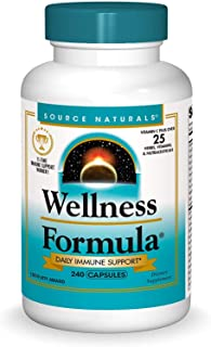 Source Naturals Wellness Formula, Herbal Immune System Support, 240 Capsules
