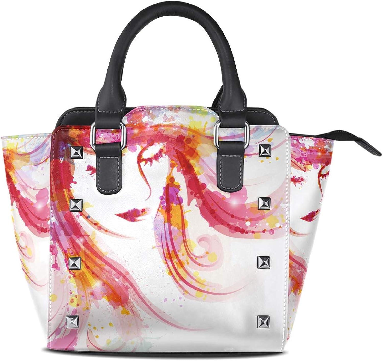 TIZORAX , Damen Schultertasche mehrfarbig mehrfarbig mehrfarbig One Größe B07K7J3R8V  Preiszugeständnisse 0d591c