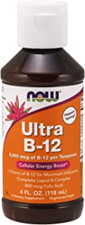 NOW Supplements, Ultra B-12, Liquid, 4-Ounce