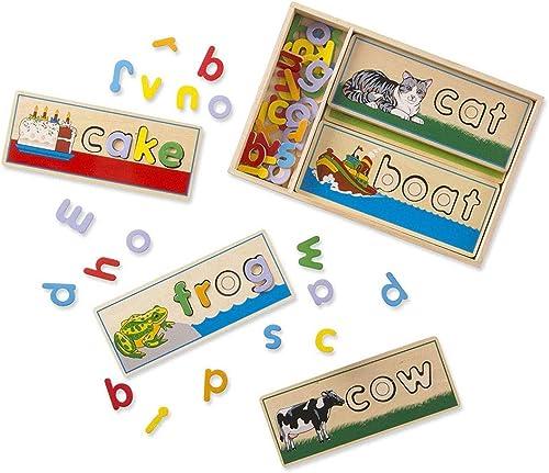 Kinder Holzspielzeug Früherziehung Spielzeug Früherziehung Spielzeug Puzzle - Früherziehung Alphabetisierung Karte 05.08