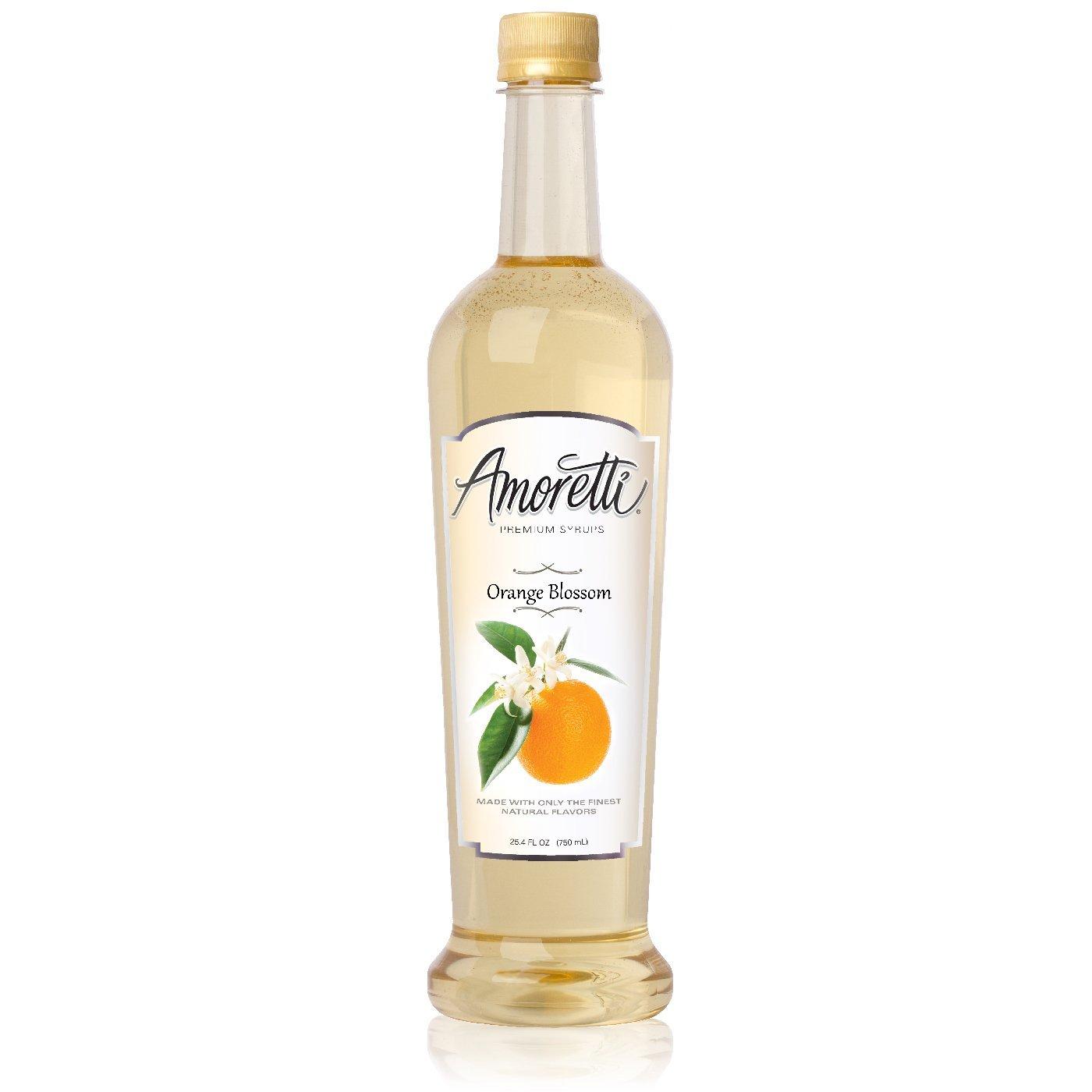 Amoretti Premium Syrup, Orange Blossom, 25.4 Ounce