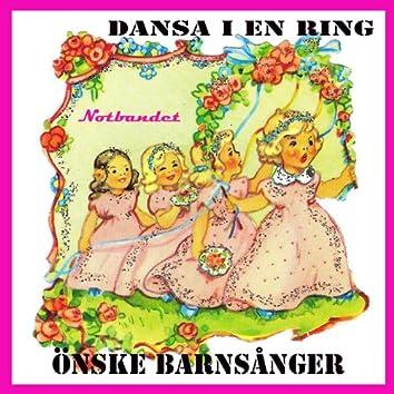 Dansa i en ring önske barnsånger