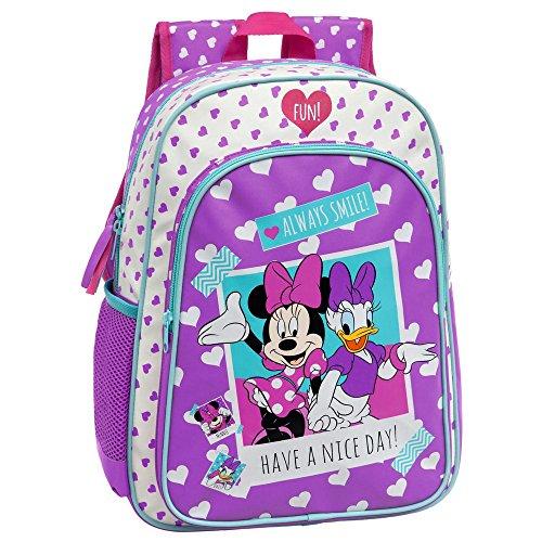 Disney Minnie Daisy Nice Day Set de Sac Scolaire, 40 cm, Rose 2492351