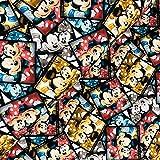Swafing GmbH Lizenz Jersey Mickey & Minnie Polaroid - Stoff