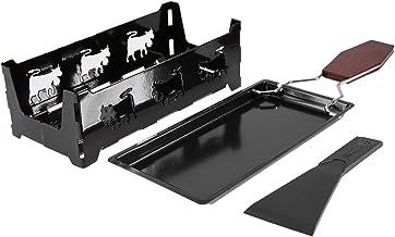 Hatirea Gril de Table à raclette, raclette Solide et au Fromage, Portable pour la Maison pour la Fabrication de Fromage
