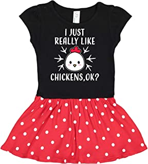 I Just Really Like Chickens Ok Toddler Dress