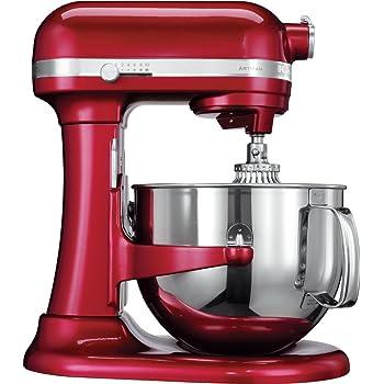 KitchenAid Artisan - Batidora amasadora, 6.9 l, color rojo: Amazon.es: Hogar