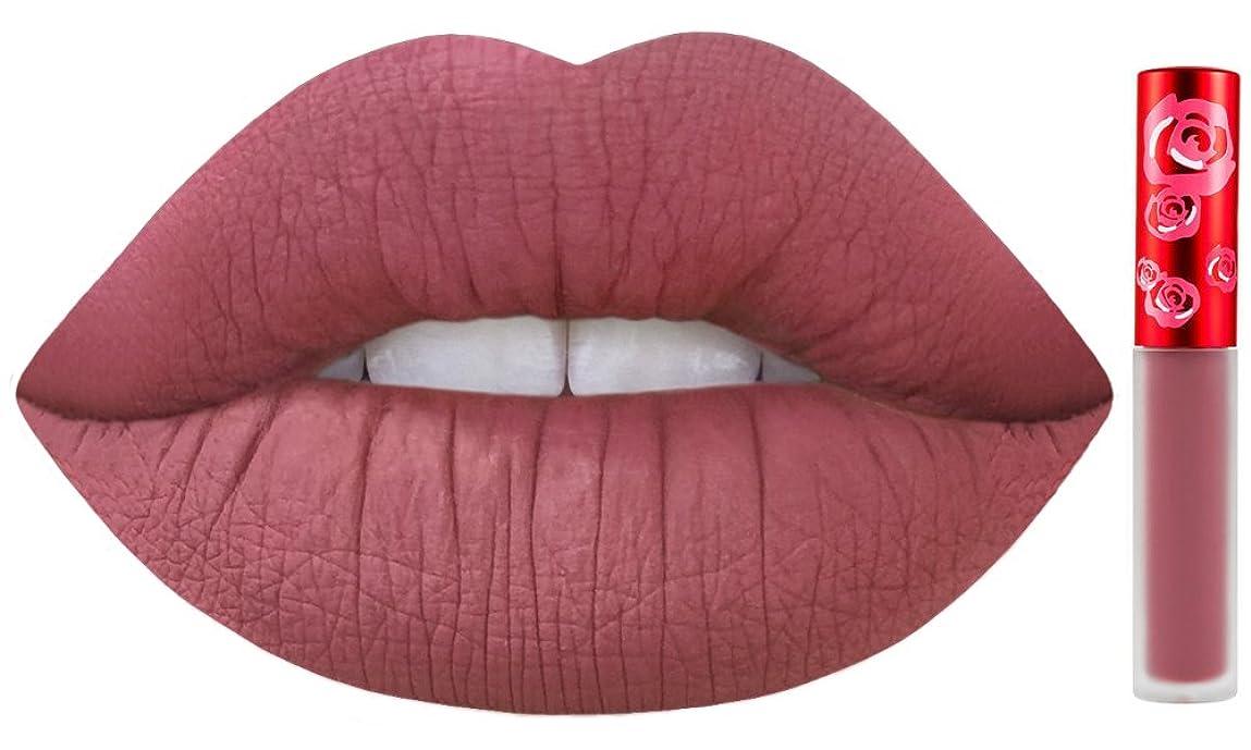 いつもマイクロフォン忘れられないLime Crime Velvetines Long Lasting Liquid Matte Lipstick (Sasha)