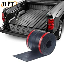 PAPILLON Adhesive Universal Rubber Truck Bed Tailgate Gap Cover Filler Seal Shield Lip Weather Stripping Cap Seal Kit(4.25