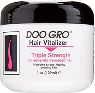 DOO GRO Hair Vitalizer Triple Strength for Severely Damaged Hair, 4 oz (Pack of 2)
