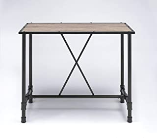 Major-Q 7072030 Industrial Style Dining Bar Table