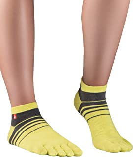 Knitido Track&Trail Spins Calzini sportivi con dita uomo e donna, per sport, running e in scarpe five fingers