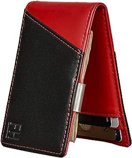 F&H Signature Slim RFID Money Clip Wallet in Top Grain Leather