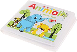HOMYL Bath TIME Books Baby Kids Fun Educational Toys Floating EVA Waterproof - Animal Paradise
