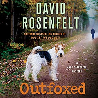 Outfoxed     An Andy Carpenter Mystery              Written by:                                                                                                                                 David Rosenfelt                               Narrated by:                                                                                                                                 Grover Gardner                      Length: 7 hrs and 18 mins     1 rating     Overall 5.0