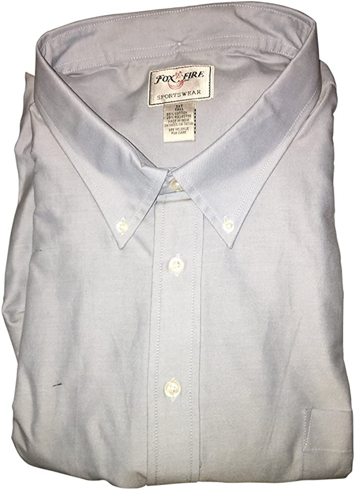 7X Big and Tall Dress and Casual Button Down Oxford Shirts Short Sleeve 7X