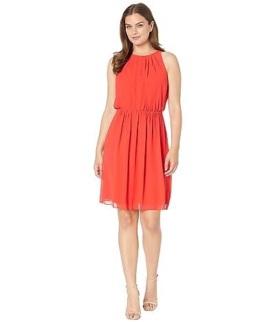 LAUREN Ralph Lauren Georgette Sleeveless Dress