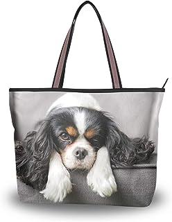 My Daily Damen Schultertasche Cavalier King Charles Spaniel Hund Handtasche