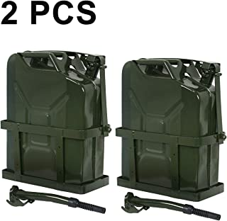 Clever Market Jerry Can Fuel Tank Holder Steel 5 Gallon 20L NATO Style Military 2PCS