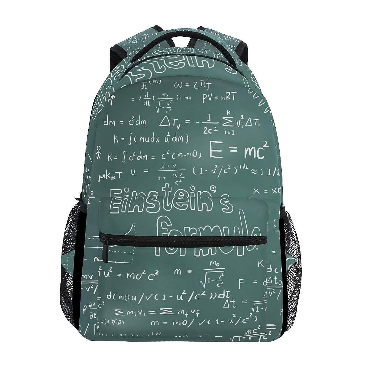サスペンドアンソロジー収束するGORIRA(ゴリラ)リュックサック 高校生 可愛い 大容量 キッズ 通学 数学記号 数式計算式 絵画 リュック レディース おしゃれ 大人 防水 キャンバス 男女兼用 旅行バッグパック