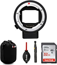 Sigma MC-21 Lens Mount Converter/Adapter (Canon EF to Leica L-Mount) with 32GB SD Card Bundle