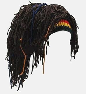 [ザザランド] 帽子 ドレッド ヘア 髪 ウィッグ レゲエ ラスタ カラー ジャマイカ コスプレ