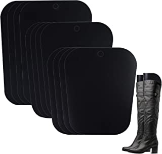 URATOT 6 Pairs (12 Sheets) Boot Shaper Form Inserts Reusable Tall Boot Support for Men and Women