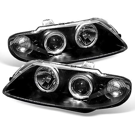 Amazon.com: Spyder Auto PRO-YD-PGTO04-HL-BK Pontiac GTO Black Halogen LED  Projector Headlight: Automotive   2005 Gto Headlight Wire Schematic      Amazon.com