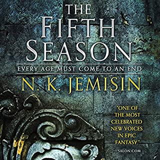 The Fifth Season     The Broken Earth, Book 1              Written by:                                                                                                                                 N. K. Jemisin                               Narrated by:                                                                                                                                 Robin Miles                      Length: 15 hrs and 27 mins     225 ratings     Overall 4.4