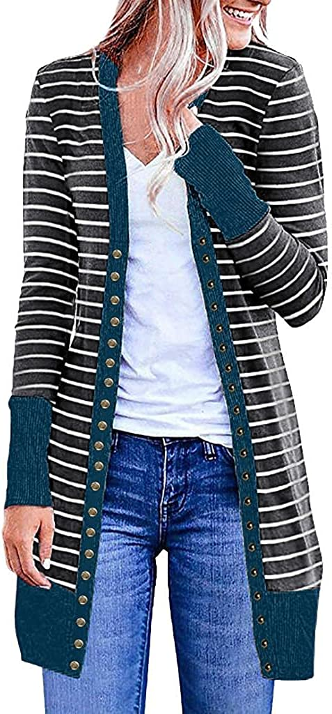 Cardigan for Women Knit Sweaters Open L Sleeve Casual Long Mail order cheap Front NEW