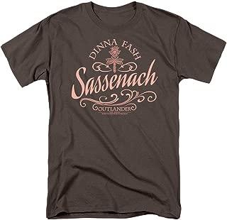 Outlander Dinna Fash Sassenach T Shirt & Stickers