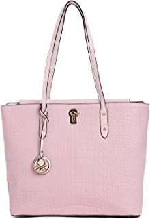 United Colors of Benetton Women's Tote Bag (Pink)