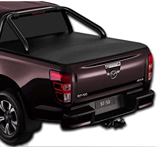 Clip On Ute Tonneau Cover to fit New Mazda BT-50 Dual Cab with Factory Sports Bars - October 2020 to Current