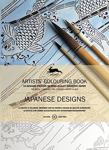 Japanese Designs: Artists' Colouring Book (Artists' Colouring Books)
