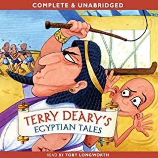 Terry Deary's Egyptian Tales cover art