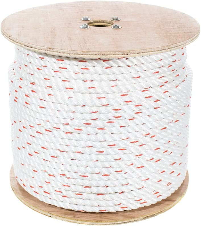 Golberg 3-Strand Baltimore Mall Twisted PolyDac Combo Rope Genuine Free Shipping - F 2 x Inch 100 1