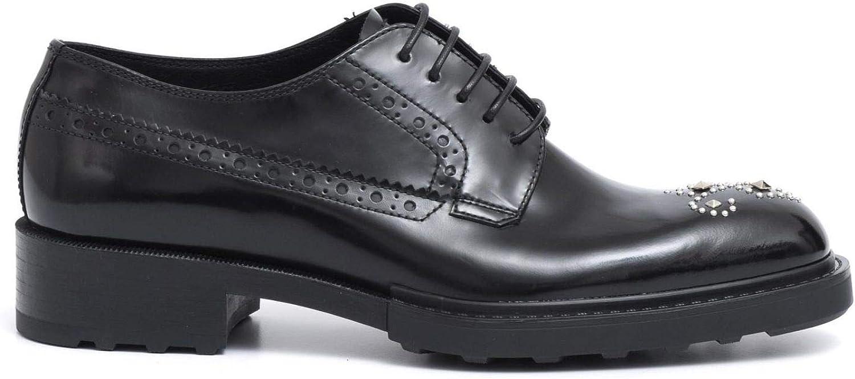Barracuda - Derby schuhe schuhe in Brushed Leather with Studs - BD0852CITY schwarz  erstklassiger Service