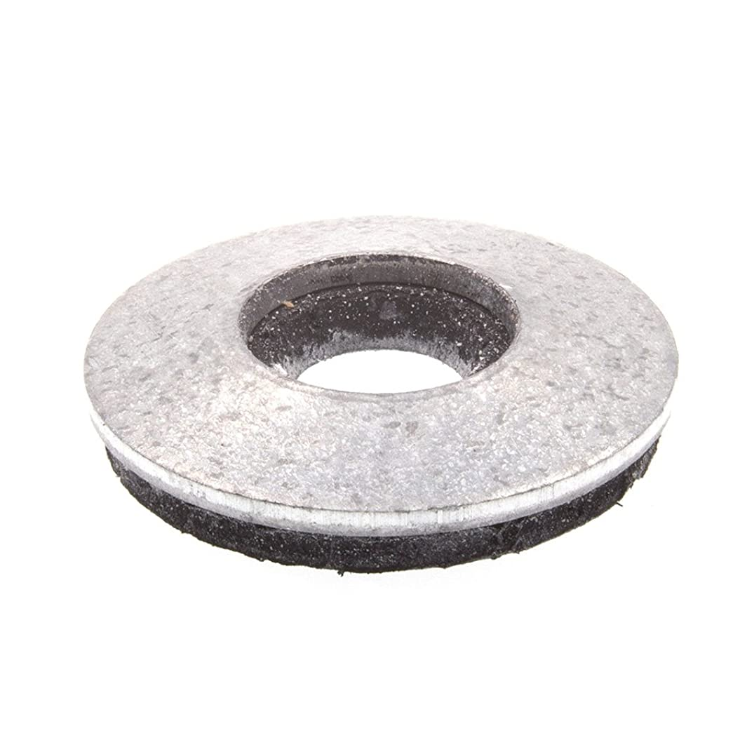 Prime-Line 9084414 Bonded Sealing Washers, 1/4 in. X 5/8 in. OD, Galvanized Steel, 25-Pack