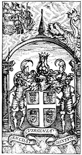 Coat Of Arms 1624 Ncoat Of Arms Of The Virginia Trading Company Of London England Line Engraving 1624 Poster Print by (24 x 36) -  Granger Collection, GRC0076522LARGE