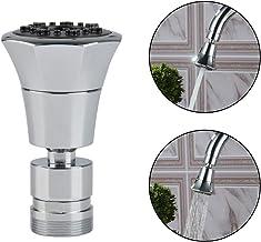 QLOUNI Ahorra Agua Aireador Desmontable para Grifos de Cocina - Exterior Macho de 24 mm y Rosca Interior Hembra de 22 mm Girar de 360 Grados con 2 Tipos de Tipos de Chorro