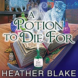 A Potion to Die For audiobook cover art