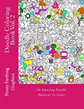 Doodle Coloring Book Vol. 2 by Penny Farthing Graphics (2014-07-23)