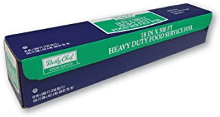 """Heavy Duty Aluminum Foil For Food Service, BBQ & Catering - 18"""" x 500FT Roll"""