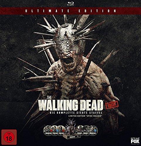 The Walking Dead - Staffel 7 (Limited Edition mit Spike Walker) (exklusiv bei Amazon.de) [Blu-ray]
