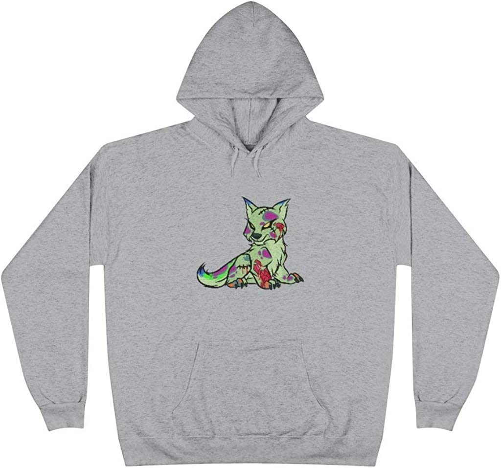 PSYCHO WOLF Pullover Hoodie Tucson Mall Credence Sweatshirt