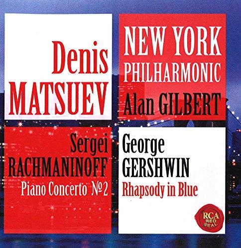 ラフマニノフ:ピアノ協奏曲第2番&ガーシュウィン:ラプソディ・イン・ブルー