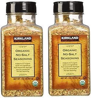 Kirkland Signature Organic No- Salt Seasonin, 14.5 Ounce (Pack of 2)