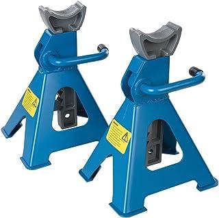 Silverline 763620 Caballetes mecánicos, 2 unidades, 3